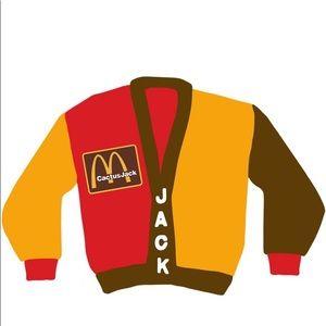 Travis Scott x McDonald's Cactus Cardigan